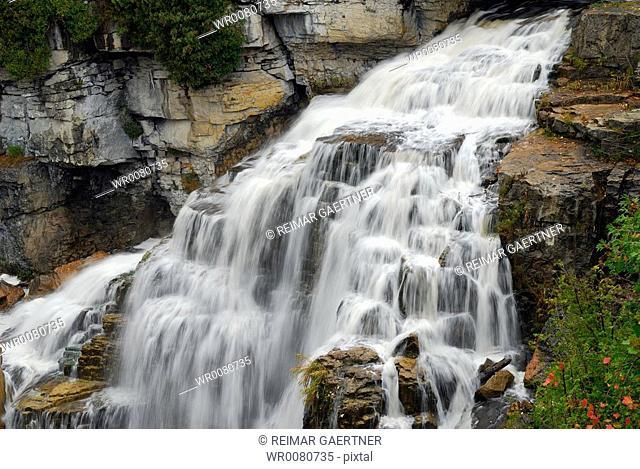 Inglis Falls Ontario in Autumn