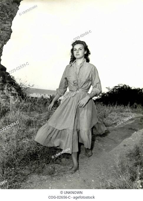 Italian actress Anna Pancani