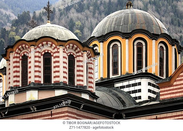 Bulgaria, Rila Monastery, Nativity Church