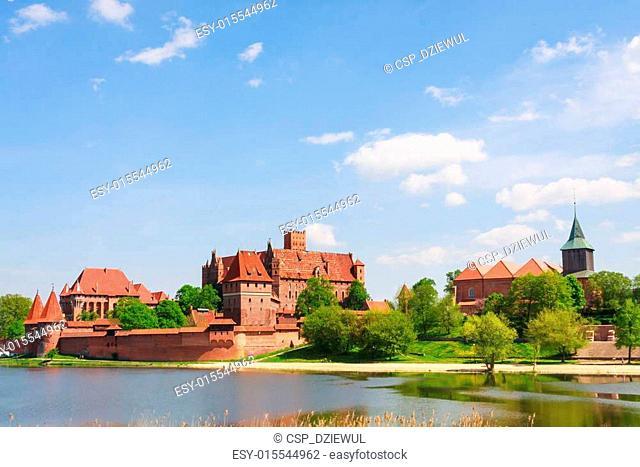 Malbork castle, Pomerania region, Poland