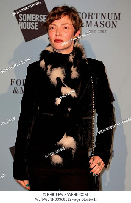 Guests attend the opening party of Skate at Somerset House with Fortnum & Mason Featuring: Camilla Rutherford Where: London