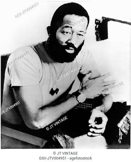 Eldridge Cleaver (1935-98), Political Activist and early Leader of Black Panther Party, Portrait, circa 1971