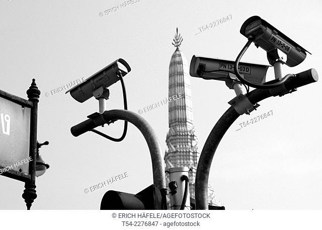 Surveillance cameras in Bangkok