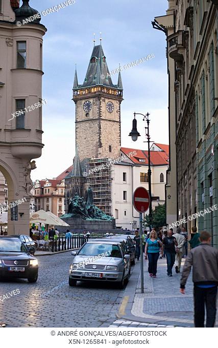 Prague Old City Hall Clock tower, Czech Republic