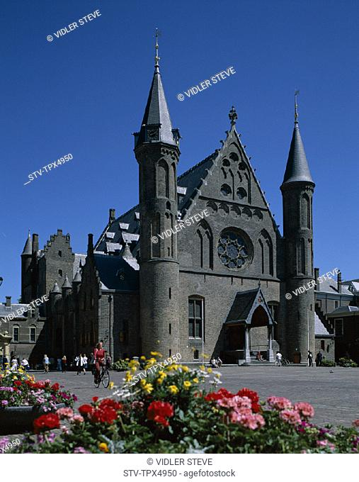 Binnehof, Building, Dutch, Hague, Holiday, Holland, Europe, Landmark, Netherlands, Parliament, Tourism, Travel, Vacation