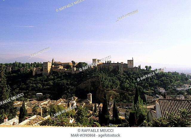 l'alhambra, granada, andalusia, spain