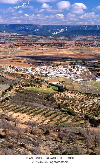 Castejón. Cuenca province. Spain