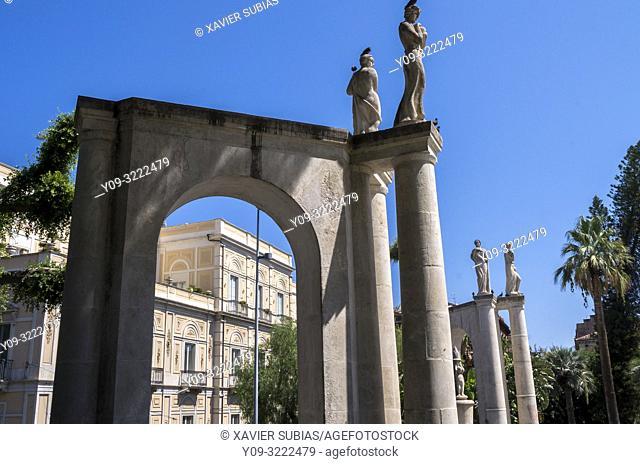 Villa Bellini, Catania, Sicily, Italy