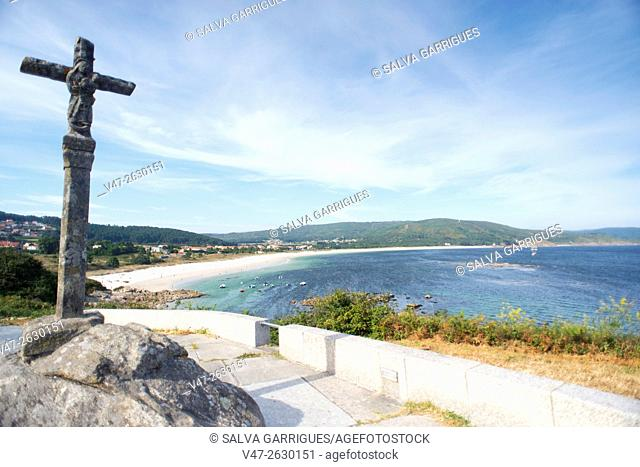 Beach of Finisterre, A Coruña, Galicia, Spain, Europe