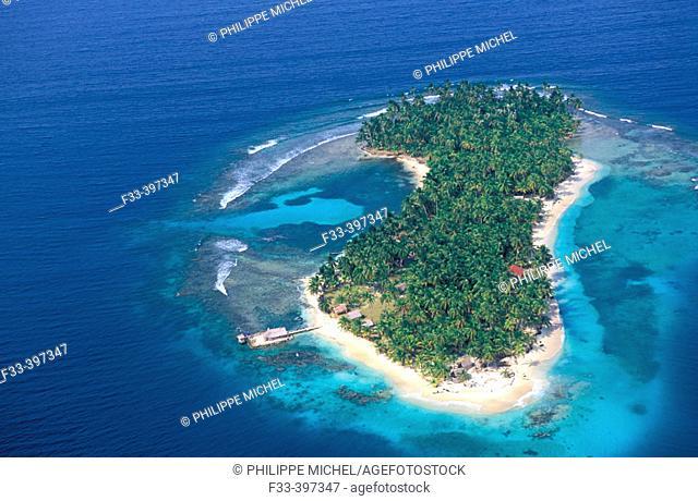 Rio Sidra, Los Grillos Islands, San Blas archipelago. Panama