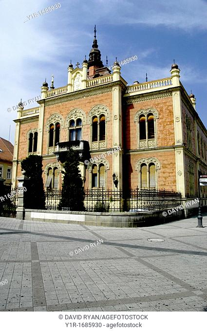 Serbia, Novi Sad, The Bishop's Palace, residence of Serbian Orthodox Bishop of the Eparchy of Backa 1901