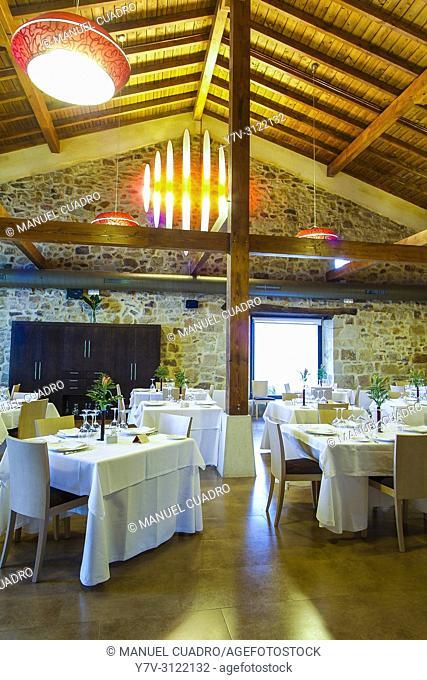 Dining room. Asador Horma Ondo. Larrabetzu, Biscay, Basque Country, Spain