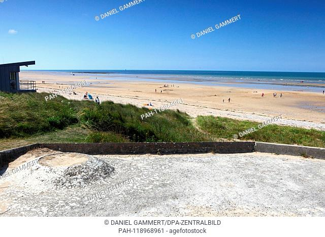 View of Juno Beach. | usage worldwide. - Juno Beach/Normandie/Frankreich