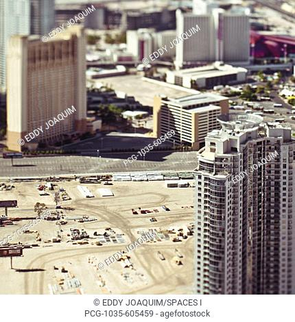 Construction site in Urban Desert