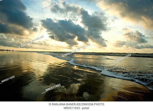 Formation of cloud at sea , Mandarmoni , West Bengal , India 2-October-2009
