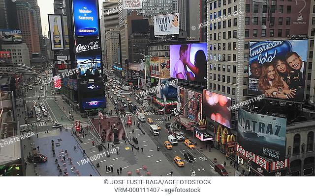 USA, New York City, Manhattan, Time Square
