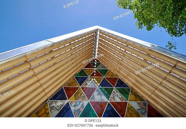The Cardboard Cathedral in Christchurch, New Zealand was constructed as a transitional place of worship following the aftermath of the major 2011 earthquake...