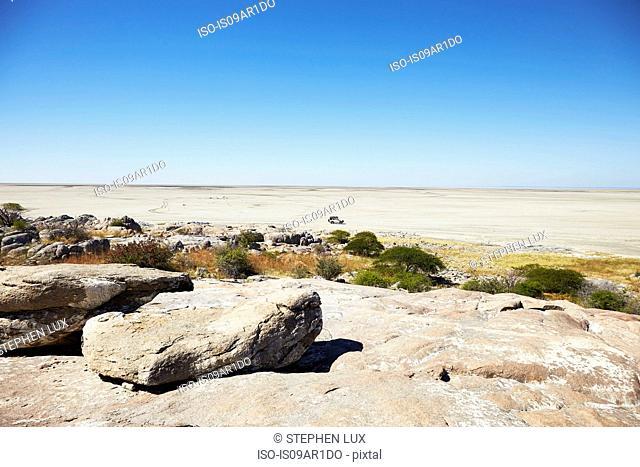 Kubu Island, Makgadikgadi Pan, Botswana, Africa