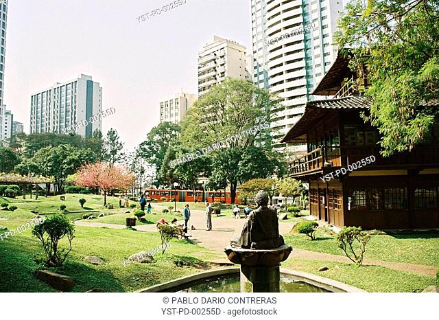 Japan square, Curitiba, Parana, Brazil