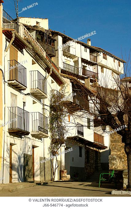 Houses. Vallibona. Castellón de la Plana province. Comunitat Valenciana. Spain