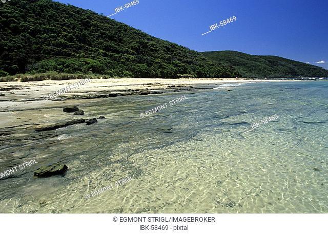 Beach at Blanket Bay, Otway Nationalpark, Great Ocean Road, Victoria, AUS