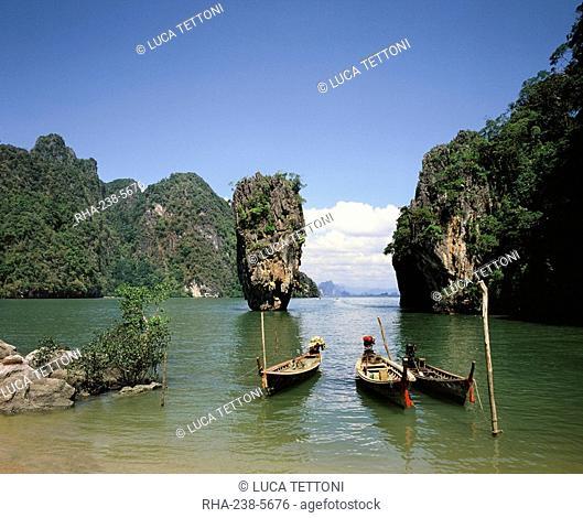 James Bond Island, Phangnga Bay, Thailand, Southeast Asia, Asia