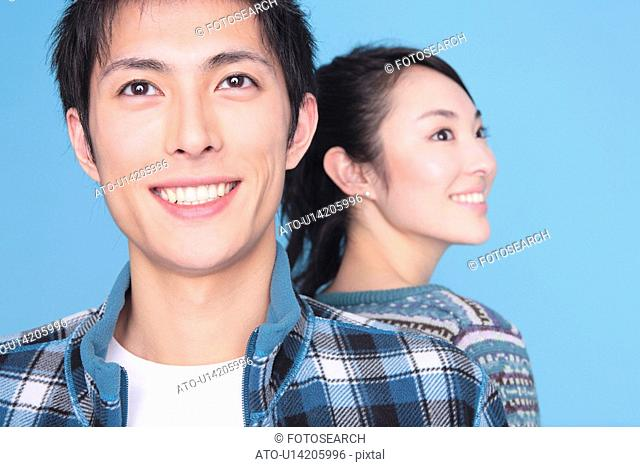 Portrait of Japanese young couple