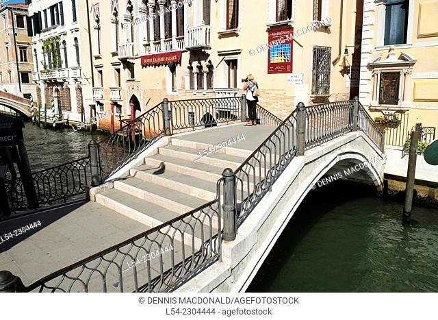 Rio de S Ana Venice Italy Canal IT Europe EU Castello Adriatic Sea
