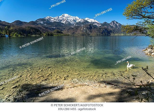Lake Kochel, Kochel am See, Bavaria, Germany