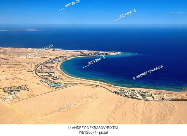 Aerophotography Hurghada, Red Sea, Egypt, Africa