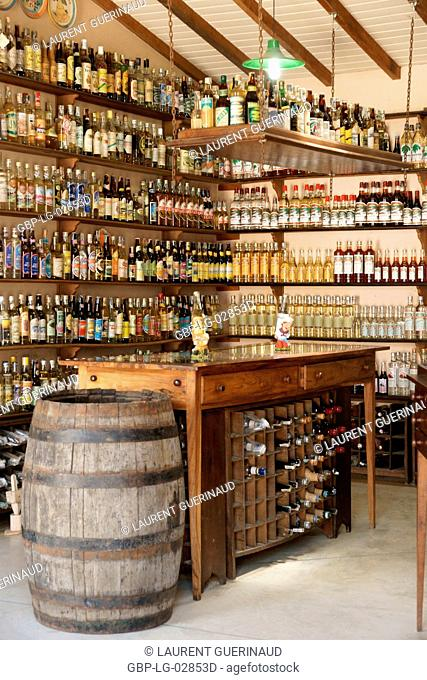 Trade, Bottles, Paraty, Rio de Janeiro, Brazil