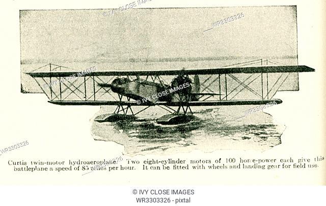 Curtis twin-motor hydroaeroplane