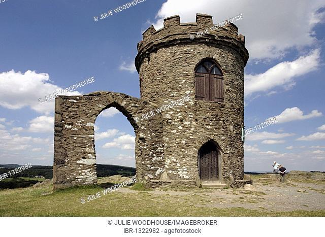 Old John Tower, Bradgate Park, Leicester, Leicestershire, England, United Kingdom, Europe