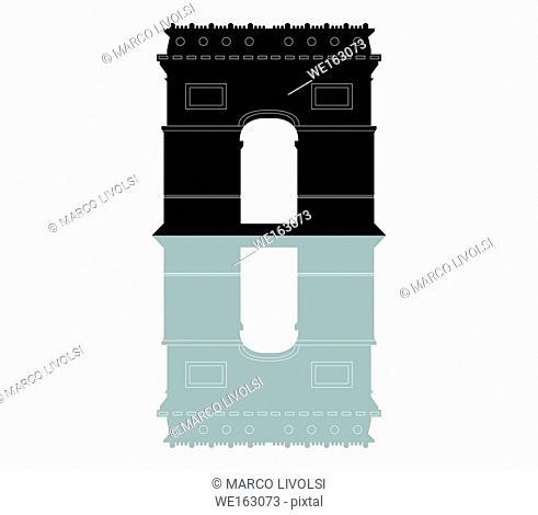 triumphal arch icon