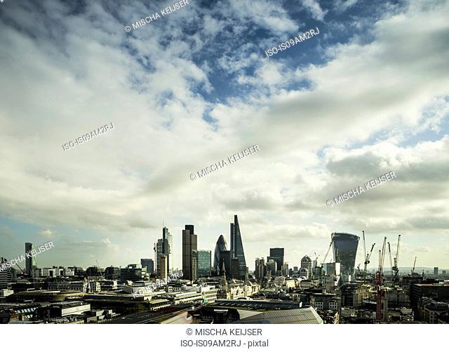 City of London financial district, London, England, UK