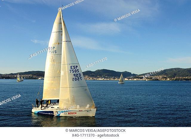 Ria de Vigo  Pontevedra, Galicia, Spain