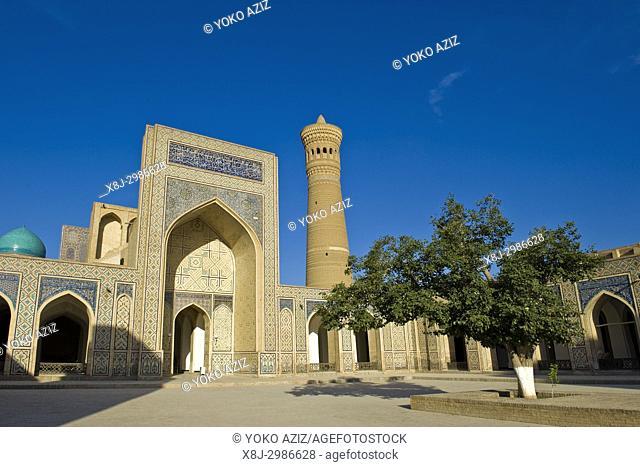 Uzbekistan, Bukhara, Kalon mosque