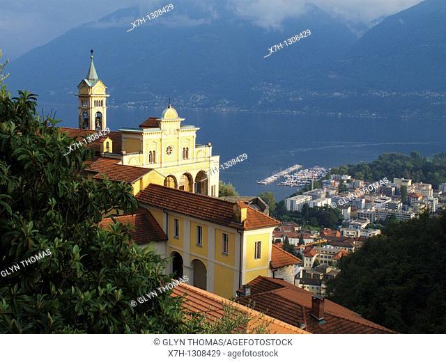 Madonna del Sasso, Locarno, Ticino, Switzerland