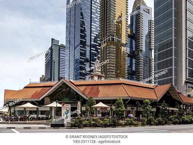 Lau Pa Sat Festival Market, Singapore, South East Asia