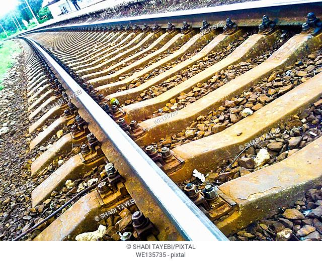 Railway and the train