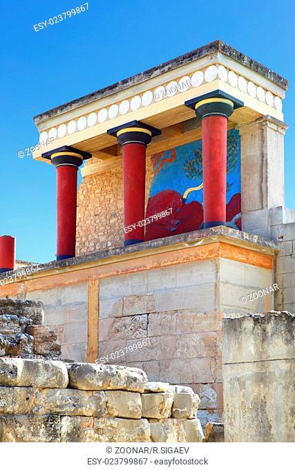 The Knossos Palace