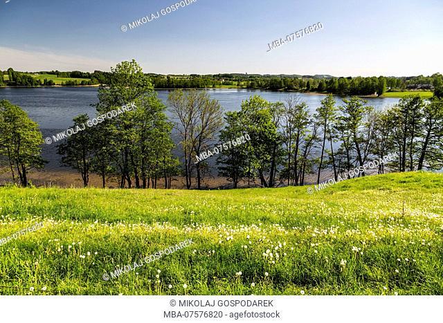 Europe, Poland, Podlaskie Voivodeship, Suwalskie / Suwalszczyzna - Szelmet lake
