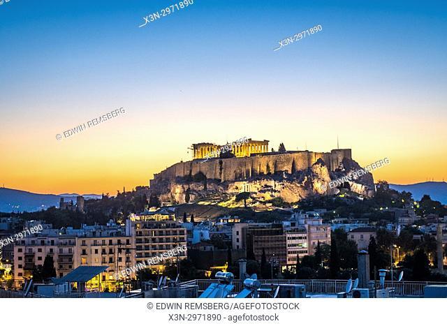 Athens Greece - The Acropolis and Parthenon