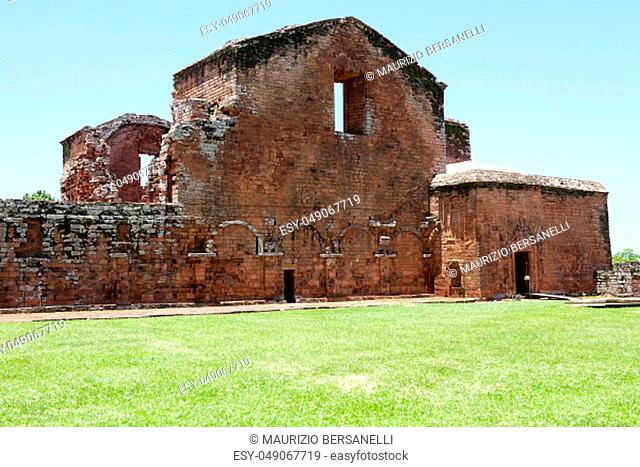 The Jesuit Missions of La Santisima Trinidad de Parana' is located in the Itapua Departement in Paraguay and is a religious missions that were founded by Jesuit...