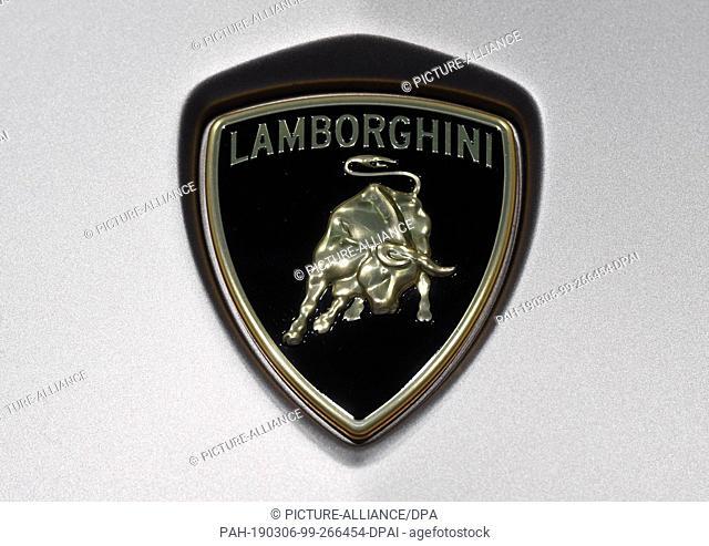 Lamborghini Logo Stock Photos And Images Age Fotostock