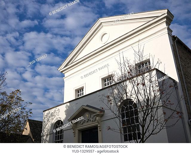 Holywell Music Room, Holywell Street, Oxford, Oxfordshire, England, UK  Built 1742-48, it was the first purpose-built musical venue in England