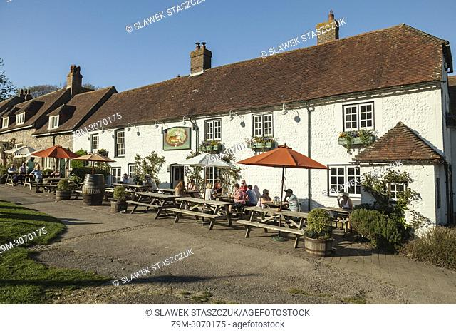 Traditional country pub in East Dean, East Sussex, England