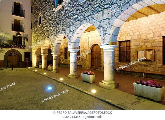 Town Hall, Bielsa. Huesca province, Aragon, Spain