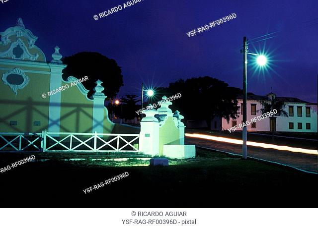 Square, Goiás Velho, Goiás, Brazil