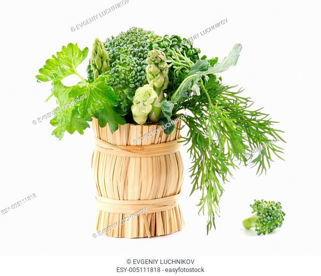 Bouquet of greens